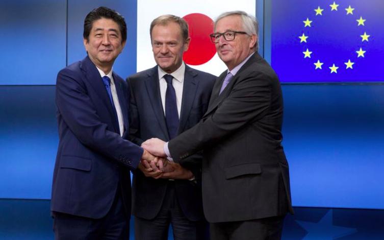Giappone e UE: Accordo di partenariato economico