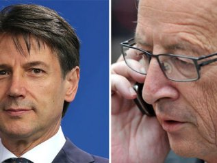"Juncker: ""Economia in regresso"". Conte: ""Frenata prevista"""