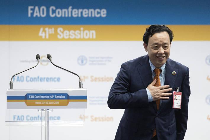 Nominato il nuovo direttore della FAO, è il cinese Qu Dongyu