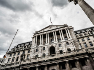 Bank of England, 'quantitative easing': altri 111 mld di euro