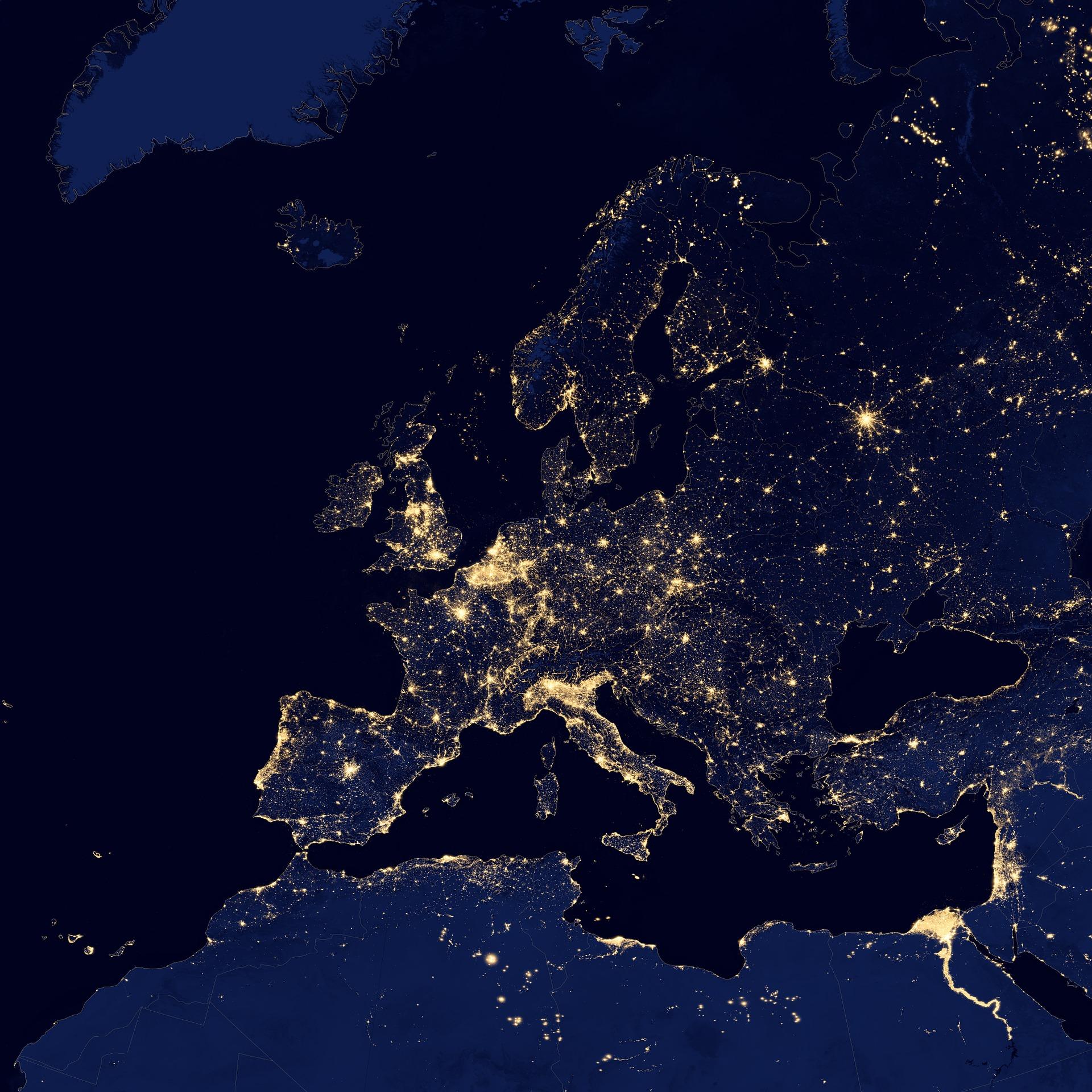Eurozona, calo record del Pil, -12% nel secondo trimestre